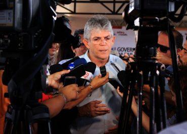 Defesa de Ricardo Coutinho pede liberação de R$ 6,5 milhões bloqueados na Operação Calvário