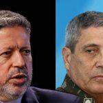 Braga Netto e Lira negam ameaças às eleições; Jornal mantém informações