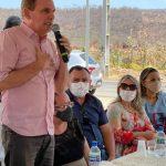 Em SJP, Chico Mendes inaugura mais uma praça na comunidade do Braga e 100% do calçamento de Boa Vista